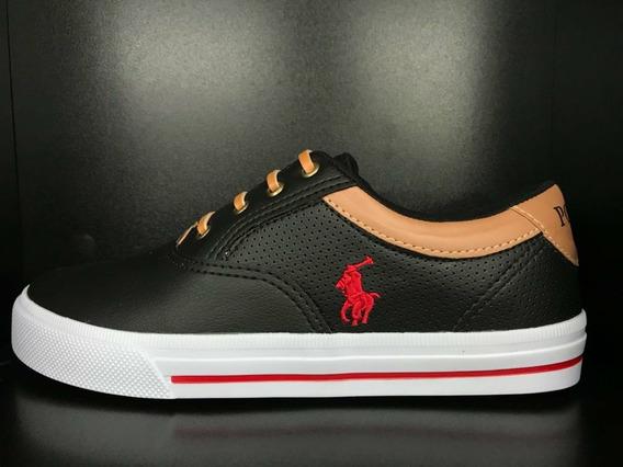 Tenis Masculino Polo Ralph Lauren Promoção Lançamento
