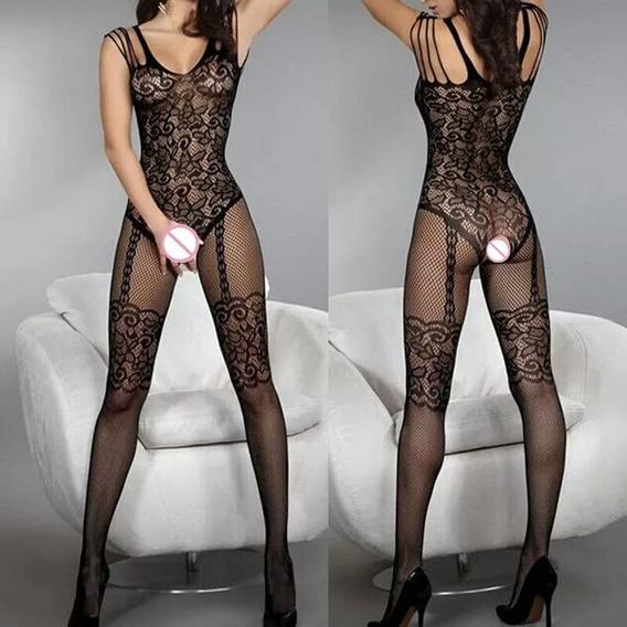 Pantimedias Tipo Body, Liguero, Stockings