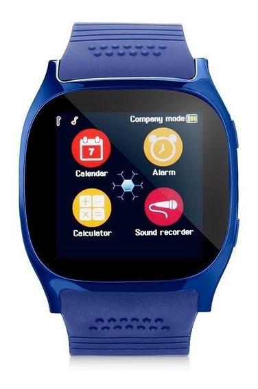 Smart Watch T8 Reloj Inteligente Celular Sim Camara Sd
