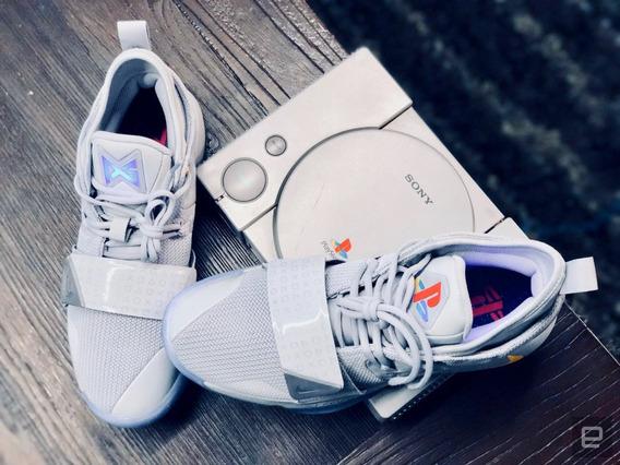 Tênis Nike Pg 2.5 Playstation Wolf Grey Sneakers Tam 42- De R$1699 Por