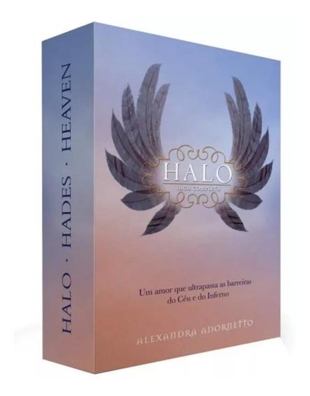 Box Halo - Saga Completa - 3 Vols - Harpercollins