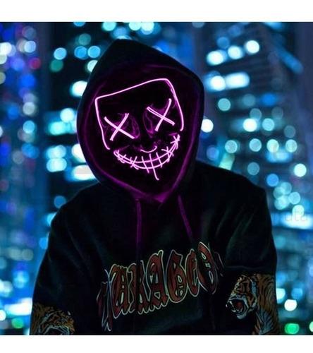 Mascara Led Con Circuito Purga Cosplay Halloween