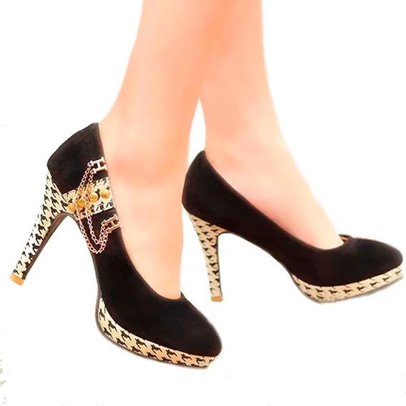 Sapato Feminino Boneca Salto Alto Calcados Femininos