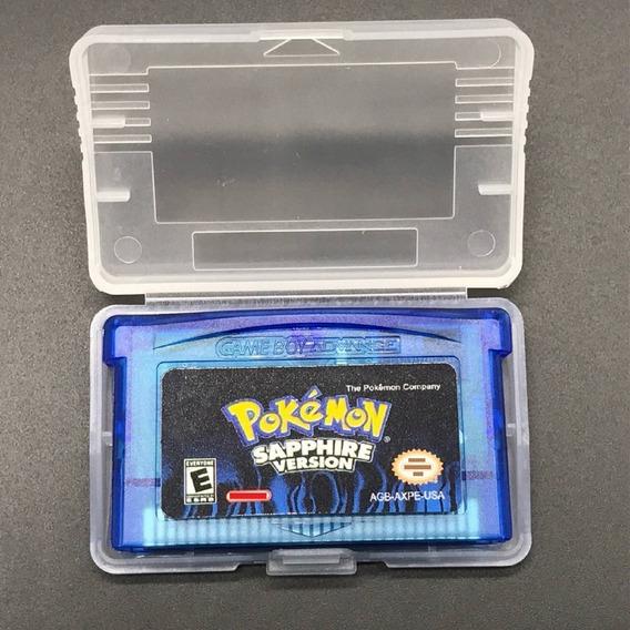 Pokemon Sapphire Em Português Game Boy Advance Gba Nds Lite