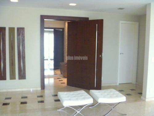 Apartamento Com  4 Suites 4 Vagas Deposito Em Rua Exclusiva No Panamby! - Pp8936