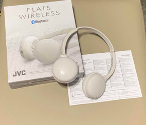 Headphone Jvc Flats Wireless Ha-s20bt-h
