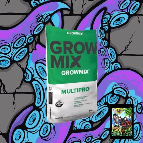 Sustrato Grow Mix Multipro 80 Lts.