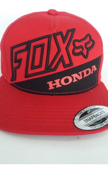 Gorra Fox Rojo/negro S/m