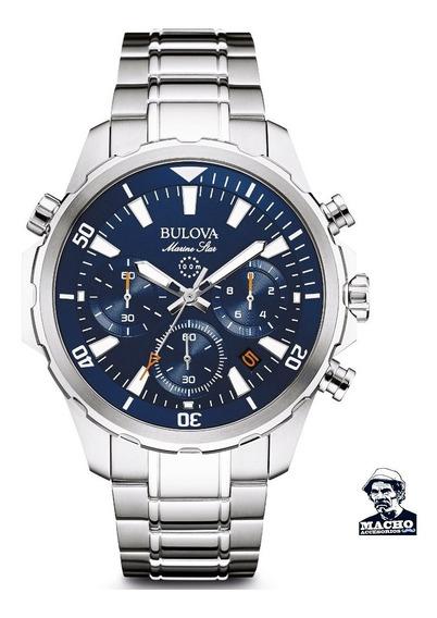 Reloj Bulova Marine Star 96b256 En Stock Original Garantía