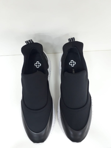 4013310 Tênis Capodarte Dad Sneaker Chunky Preto