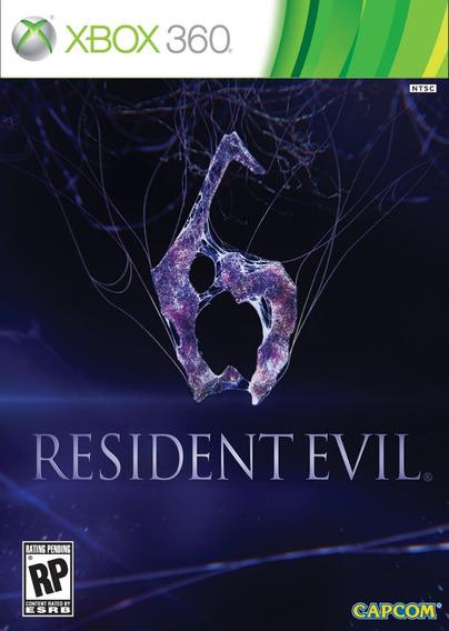 Resident Evil 6 - Xbox 360 - Mídia Física