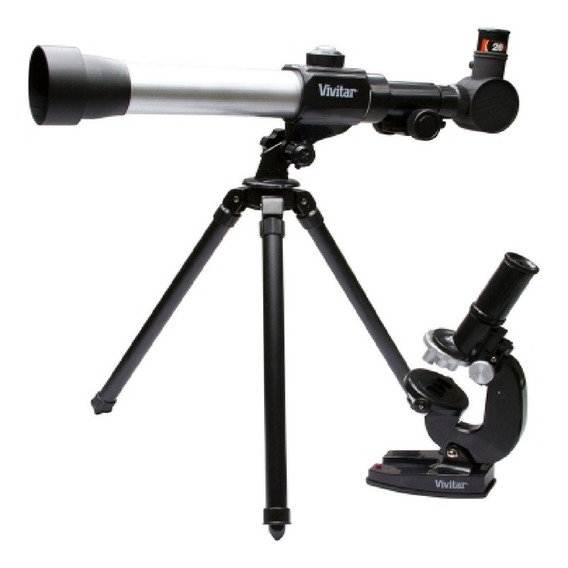 Telescópio E Microscópio Combo - Vivitar Vivtelmic20