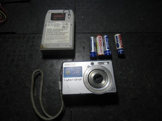 Câmera Digital Sony Dsc-s730