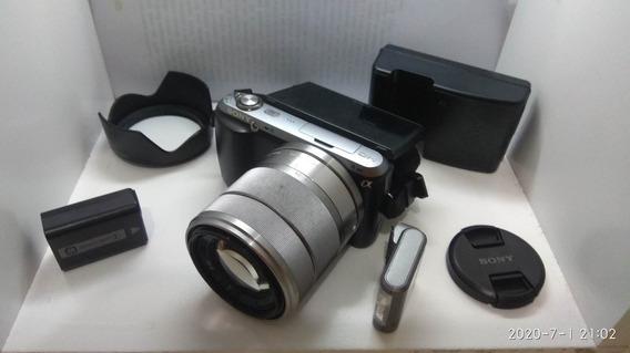Sony Mirrorless Nex C3 - (f3 A6000)só 853 Clicks - Completa