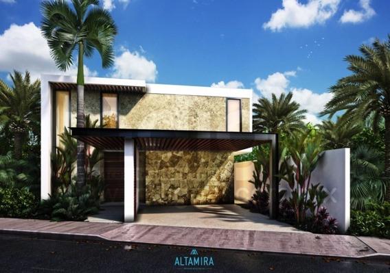Casa Nueva En Venta, Residencial Altamira Modelo A En Privada, Mérida Norte