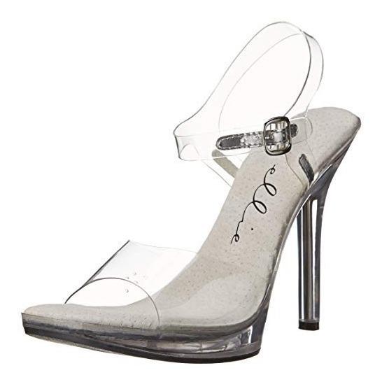 Zapatos Zapatillas Princesa Cenicienta Transparentes Damas 6
