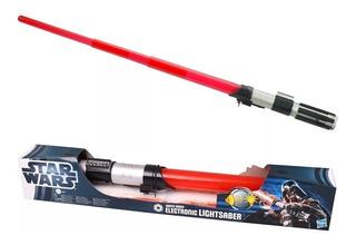 Sable Darth Vader Star Wars 83 Cm Luz Y Sonido Orig Hasbro