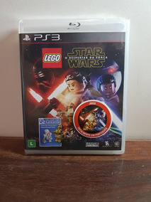 Lego Star Wars O Despertar Da Força Ps3 Português Novo Fisic