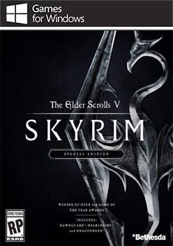 The Elder Scrolls V Skyrim Special Edition (mídia Física)