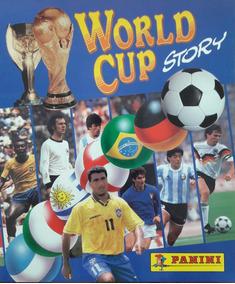 Álbum World Cup History Versão Colombiana - Scaner