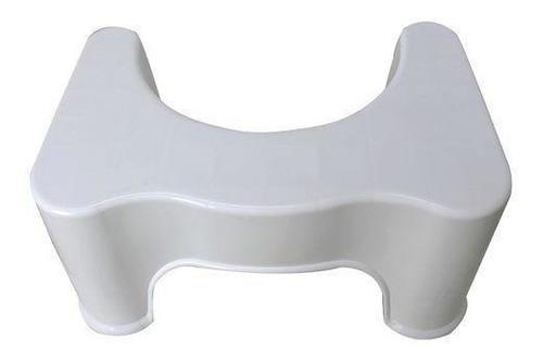 Banquinho De Cócoras Apoio Postural Vaso Sanitário + Nf
