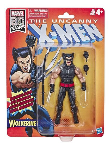 Marvel Legends Retro X-men Uncanny Wolverine 80th