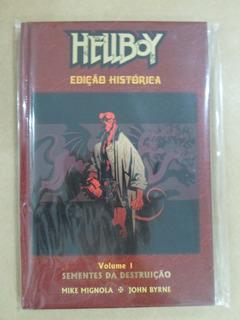 Hq Hellboy - Volume 1: Sementes Da Destruição. Ed. Histórica