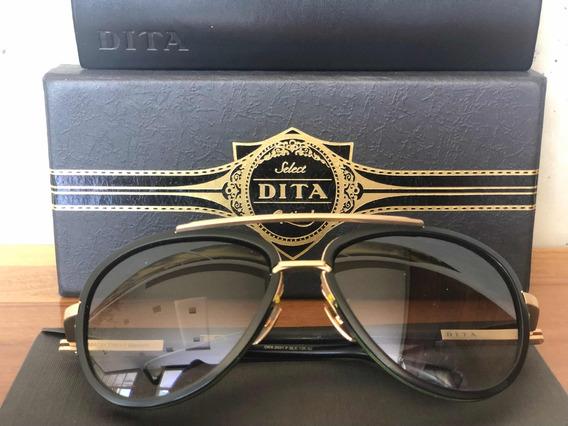 Dita Mach Two - Preto / Ouro Fosco