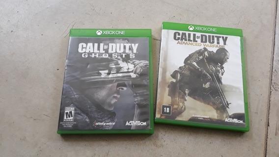 Jogo Call Of Duty Advanced Warfare E Ghosts Xbox One Física