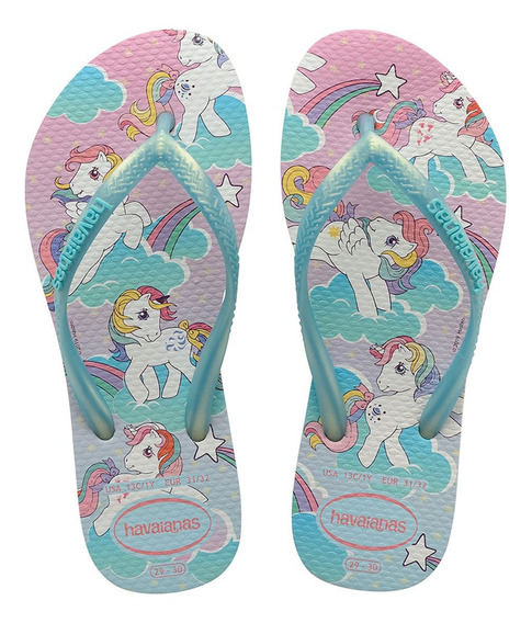 Havaianas Kids Slim Unicórnio My Little Pony