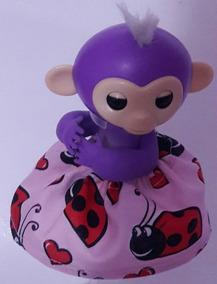 Finger Monkey Macaco Macaquinho Fingerlings Original Mia