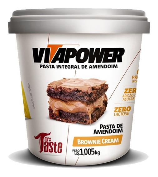 Pasta De Amendoim 1kg - Vitapower - Novos Sabores