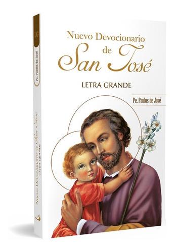 Nuevo Devocionario De San José - Letra Grande