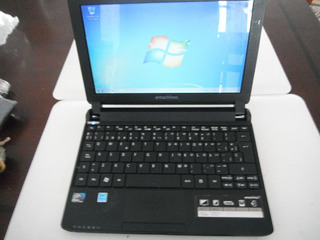 Mini Laptop Emachines 10.1 Win 7 Wi-fi Pila 3 Horas Cargador