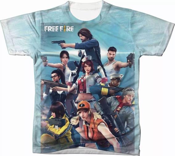 Camisa Camiseta Jogo Free Fire Game Celular Ps4 Pc 02