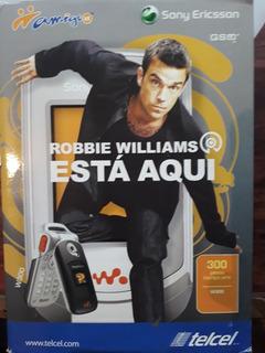 Sony Ericsson W300i Robbie Williams Sólo Coleccionistas