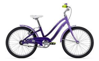 Bicicleta Niñas Rodado 20 Giant Bella Freno Contrapedal