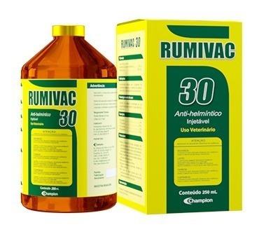 Imagem 1 de 5 de Rumivac 30 Injetável - Vermífugo Para Bovinos E Ovinos
