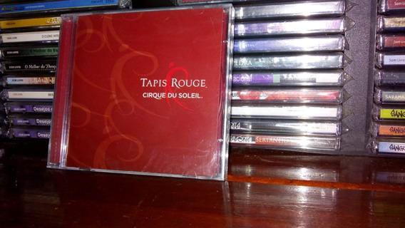 Cd Cirque Du Soleil Tapis Rouge - Novo Lacrado