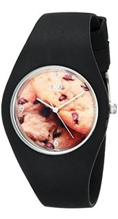 Tko Cool Rubber Rubber Fun Cookie Dial Watch Para Adolescent