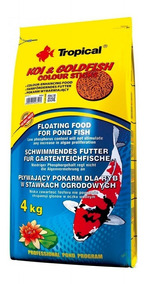 Ração Tropical Koi & Goldfish Colour Sticks 4kg