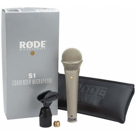 Microfone Rode Condensador Vocal S1
