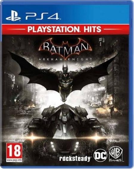 Batmam Arkham Knight Playstation Hits Mídia Física Novo