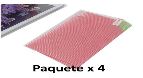 Set 4 Protector Para Tablet 7   Plastico  Universal 152x91mm