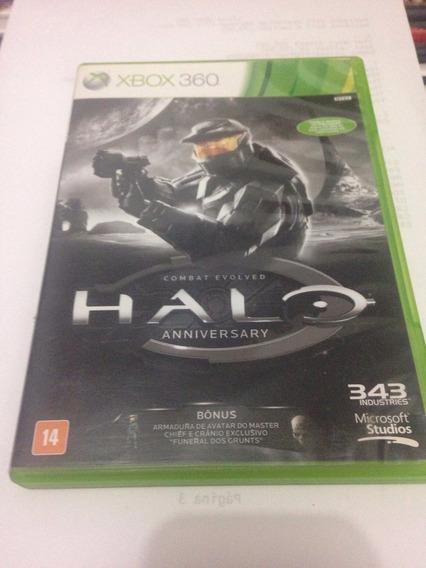Halo Anniversary Jogo Original Para Xbox 360