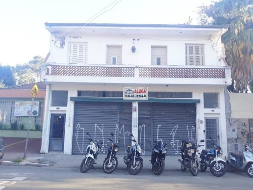 Imagem 1 de 8 de Locação Salão - Chácara Santo Antônio, São Paulo-sp - Rr3334