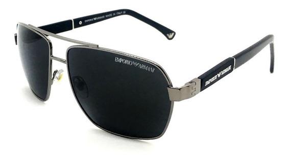 Oculos De Sol Masculino Ea3071 Polarizado Proteção Lente Uv400