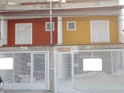 Sobrado Residencial À Venda, Jardim Do Mar, São Bernardo Do Campo. - So0466