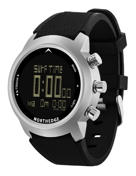 Relógio Masculino North Edge N-touch Profundímetro Altímetro Bússola Cronometro