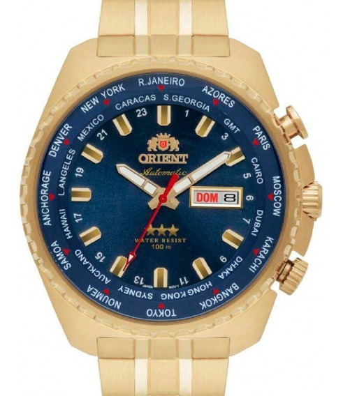 Relógio Orient Masculino Automatico 469gp057 D1kx Dourado